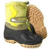 View Item GREEN WINTER WATERPROOF WARM RAIN SNOW BOOTS SIZE 4-8